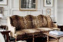 leopard print decor