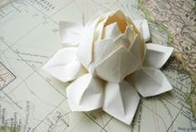 Origami Art / Inspiration for a origami art installation.