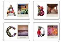 NOMAD CHIC RESOURCE: alphabet / LOVE LETTERS http://www.nomad-chic.com