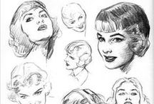 drawings & paintings / by Rosie Mayer