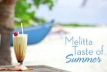 "Taste of Summer: Recipes / Create the ultimate Melitta cold coffee drink recipe for a chance to be our featured ""Barista of the Day"" & win a bag of Melitta coffee (prizes awarded daily). You'll also be entered to win our grand prize – free coffee for a year! Enter here: http://bit.ly/1k8pIQg!"