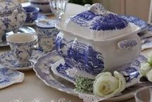 Transferware, Blue Delft, Blue Onion, Blue Orientals and many more... / Everything about Transferware, English, Dutch, etc. / by Fabiola Crespo