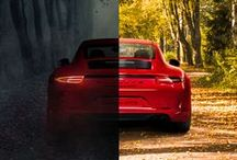 The new 911 Carrera GTS models / The new 911 Carrera GTS has everything that typifies a sports car: a powerful front, a broad rear, sharpened design elements. Simply put: all that matters in a sports car. Get all the details here: http://po.st/QDCOPf Combined fuel consumption in accordance with EU5: 12.4-8.2 l/100 km; CO2 emissions in g/km 289-191.