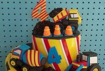 Birthday-Male Cakes / Birthday cake inspiration for boys and men. / by Jenniffer White