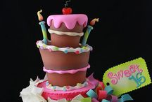 Birthday-Not kids cakes / Birthday Cakes for non kids / by Jenniffer White