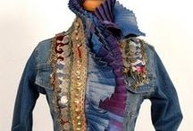 DENIM AND JEANS UPCYCLE / Take old jeans and make something new and beautiful
