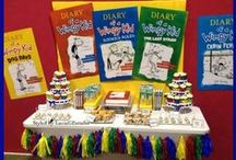 Diary of a Wimpy Kid Ideas for Landon's 7th Birthday / Diary of a Wimpy Kid Birthday Party
