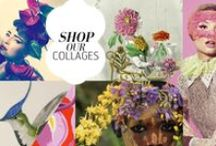 NOMAD CHIC RESOURCE: Illustration AD / collage & design inspiration