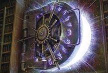 ENOR :: Tecnomagia / Tecnología, magia, inspiración de steampunk, sci-fi y fantasía para diseñar el sistema de magia de Enor y sus objetos tecnomágicos.