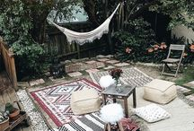 [ BACKYARD DREAMS ] / If I could snap my fingers and transport our backyard into this, I would be giddy