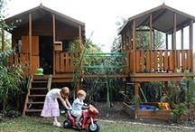 Cubby Houses / Wow! All the best #cubbyhouse ideas for #outdoor fun and #play