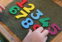 educational / A board with #educational ideas for #toddlers and #preschoolers for learning to count, read and play