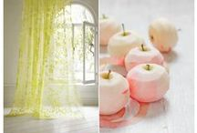 Color Palettes / A selection of pretty color palette to inspire home decor, weddings and more!