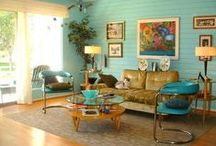 Retro Home Mid-Century Modern / Rob and Laura Petrie could live here! / by Birdhouse Books