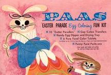 Vintage Easter / Bunnies, chicks, and lots of nostalgia!  You'll find many of the cards pictured at Birdhouse Books:  http://stores.ebay.com/Birdhouse-Books