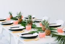 Pretty Tablescapes / Beautiful ideas for dining and hostessing in style whether it be for a dinner party, holiday dinner, cocktail party or wedding!