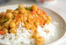 Recipes: Vegetarian Entrees / I love Southern cooking, Mexican, Italian, South Indian and Thai ... you'll find lots of vegetarian main dish recipes here!