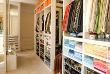 Dream Home ~ Closets / I really need and want one of these beautiful closets in my dream home! / by Susie Fairbanks