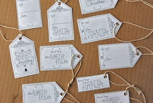 San Diego Girls Weekend / 8 hours of crafting and eating / gift tags / by Eileen Marie of Buena Lane