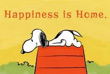 Snoopy and Peanuts / Snoopy makes me happy!