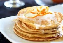 Recipes: Breakfast (Vegetarian) / Vegetarian breakfast foods including oatmeal, pancakes, egg dishes, and more!