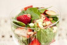 Recipes: Salads (Vegetarian) / Green salads, bean salads, pasta salads, fruit salads, and more!