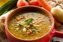 Recipes: Soups (Vegetarian) / Comforting soup for a cold day!   All vegetarian recipes.