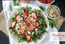 Salad Recipe Love / It's green and leafy.  / by Brandy O'Neill | Nutmeg Nanny