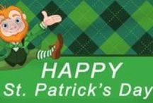 St. Patrick's Day | Banners.com / St. Patrick's Day Banners and Signs, Food Ideas, Decorating Ideas and everything St. Patty's Day!