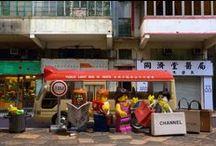 Hong Kong Stories  - Legography by Ric Tse