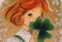 Vintage St. Patrick's Day / Vintage St. Patrick's Day greeting cards and images.  You will find some charming vintage St. Patrick's Day cards in my shop:  http://stores.ebay.com/Birdhouse-Books
