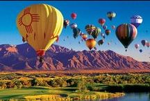 Albuquerque Balloon Fiesta / We love to attend the balloon fiesta each year! The beautiful colors, the excitement and the wonderful New Mexican culture. Visit our store where we sell souvenirs, books and everything New Mexico!