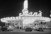 Vintage Restaurants / Vintage restaurants and diners - Roadside Americana