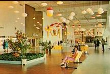 Vintage Shopping Malls and Department Stores / Vintage retail - shopping malls, department stores, stores - 1950's, 1960's, 1970's, and maybe some 1980's too