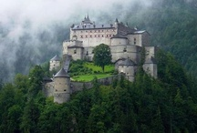 Castles / I am fascinated by castles!  The beauty, romanticism, intrigue and history of them.  I wish that I had lived in the era of the castle. / by Janelle Ratzlaff Cramer