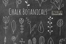 Chalk board ink