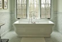 Home: Bath and Powder Room / Design/decor ideas for bath and powder rooms!