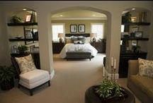 Home: Master and Secondary Bedrooms / Design/decor ideas for the master and secondary bedrooms!
