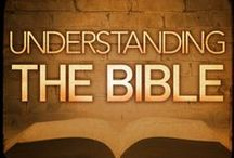 God's Word. Understanding the Bible Better / Advice for why loving God's way is the BEST solution. For advice about Living a Life God's Way, come here: http://www.pinterest.com/dalovelygeneva/god-glorify-him/ / by Geneva D.