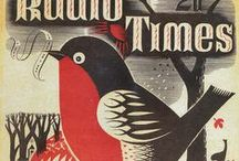 Vintage Graphics / Vintage travel posters, book covers and other advertising graphics