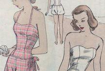 bathing suits / by Jane Bullock