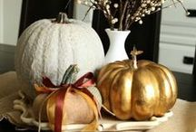 Seasons: FALL-ing in Love with Autumn! / Decorations and craft ideas for the fall season, including Halloween and Thanksgiving!