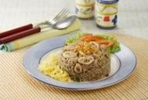 Indonesian Cuisines | Nasi dan Mie Goreng (Fried Rice and Noddle) / Indonesian Cuisines | Nasi dan Mie Goreng (Fried Rice and Noddle)