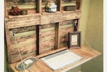 Recycled and Upcycled Stuffs | Woods and Pallets