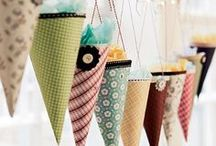 G a r l a n d s / pretty little hanging things.