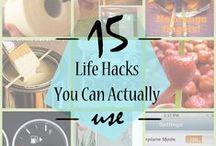 Life Hacks / by Julie Wood