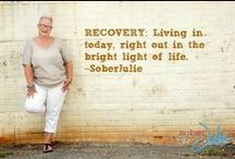 Inspiring / Encouraging thoughts to keep going and be inspired by! / by SoberJulie