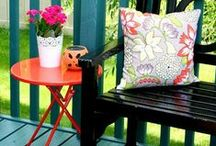Outdoor Decorating Ideas / Ah how we adore spending time in our backyard, this board is for outdoor decorating ideas. / by SoberJulie