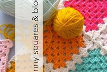 Granny Squares & Blocks / Use these blocks and granny squares to create fabulous afghans and more!