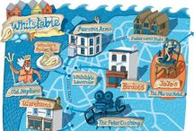 C'mon Get Mappy / Gorgeous illustrated maps